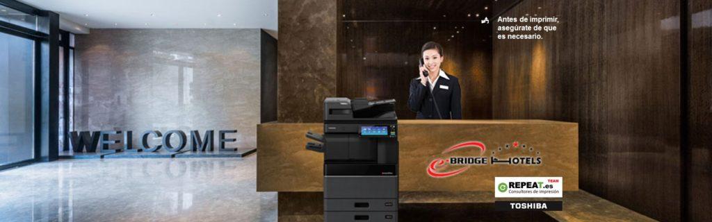 App impresión e-BRIDGE Hotels